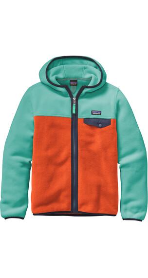 Patagonia Boys LW Synch Snap-T Hoddy Cusco Orange